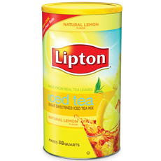 Lipton� Lemon Iced Tea Mix 100 ounces