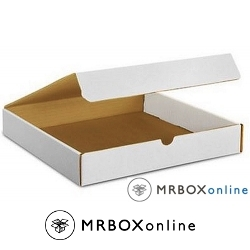 11.125x8.75x2 White Die Cut Literature Mailer Boxes