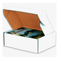 12x11x3 Deluxe White Die Cut Mailer Box