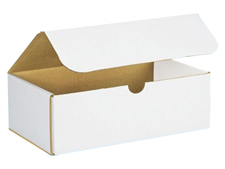 9x5x3 White Die Cut Mailer Boxes