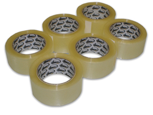 Lucky Dog 6 Pack Box Sealing Tape