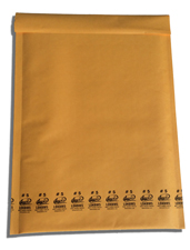 Lucky Dog Kraft Bubble Mailers Envelopes� #4 9.5x14.5""