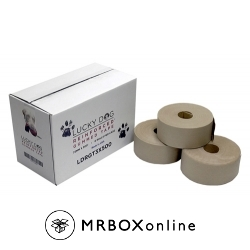 Lucky Dog Reinforced Brown Gummed Tape