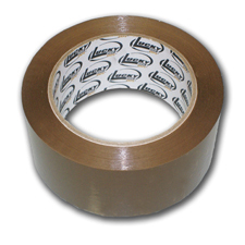 Lucky Dog 2x110 1.8 Mil Tan Box Sealing Tape