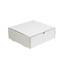 10x10x4 White Die Cut Mailer Boxes