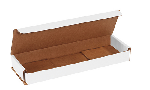 10x3x1 White Die Cut Mailer Boxes