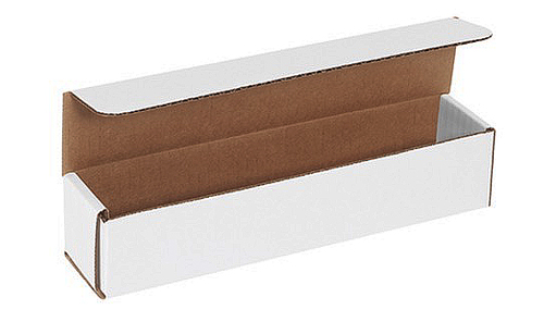 14x6x4 White Die Cut Mailer Boxes
