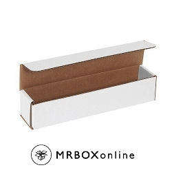 10x4.875x3.75 White Die Cut Mailer Boxes