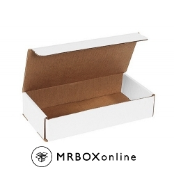 10x6x3 White Die Cut Mailer Boxes