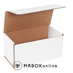 10x5x5 White Die Cut Mailer Boxes