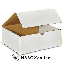 10x8x6 White Die Cut Mailer Boxes