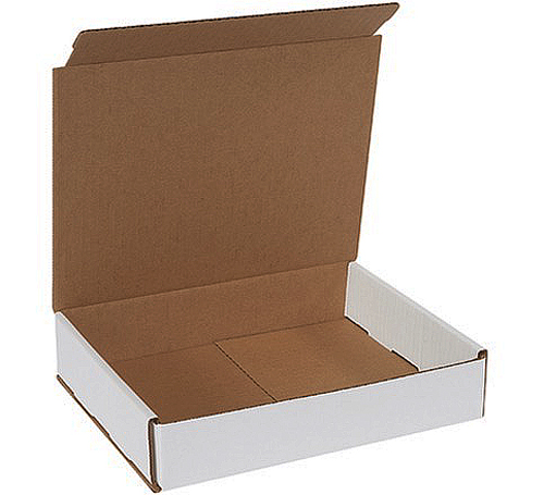 10x8x2 White Die Cut Mailer Boxes