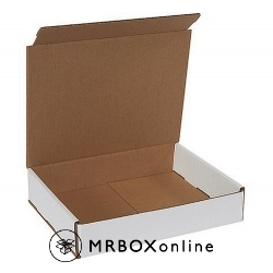 12x9x2 White Die Cut Mailer Boxes