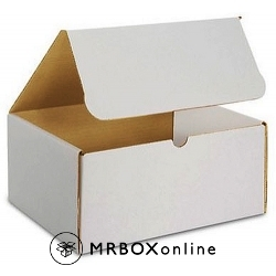 11x4x4 White Die Cut Mailer Boxes