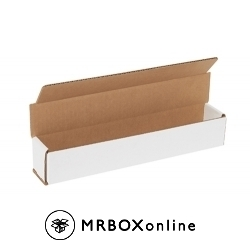 12x2x2 White Die Cut Mailer Boxes