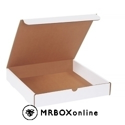 12x12x2 White Die Cut Literature Mailer Boxes