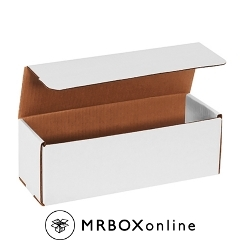 12x4x4 White Die Cut Mailer Boxes