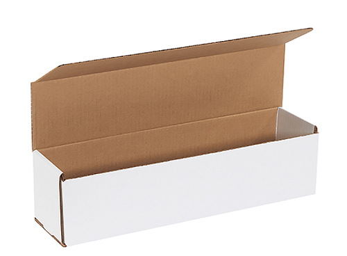 16x4x4 White Die Cut Mailer Boxes