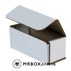 5x2x2 White Die Cut Mailer Boxes