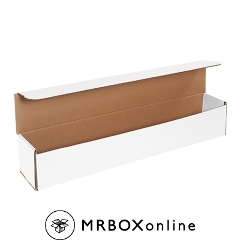 24x4x4 White Die Cut Mailer Boxes