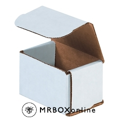 3x2x2 White Die Cut Mailer Boxes