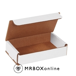 5x3x1 White Die Cut Mailer Boxes