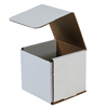 5x5x5 White Die Cut Mailer Boxes