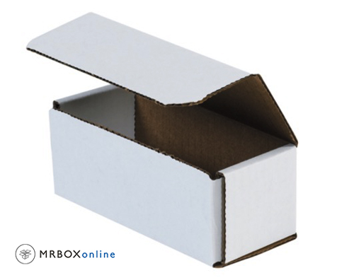 6x2x2 White Die Cut Mailer Boxes