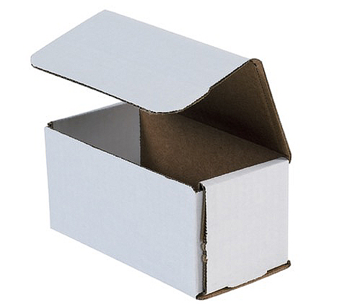 6x3x3 White Die Cut Mailer Boxes
