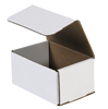 6x4x3 White Die Cut Mailer Boxes