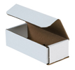 7x3x2 White Die Cut Mailer Boxes
