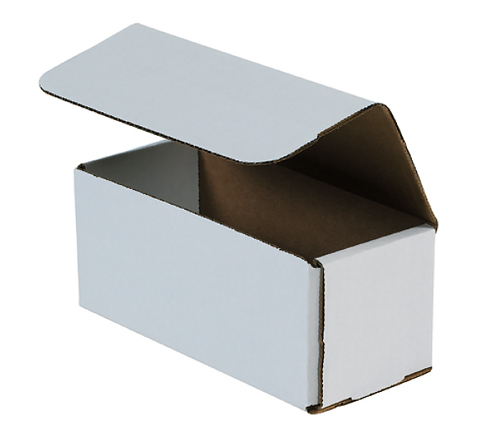 12x5x4 White Die Cut Mailer Boxes