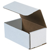 7x4x3 White Die Cut Mailer Boxes