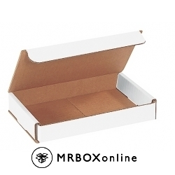 7x5x1 White Die Cut Mailer Boxes