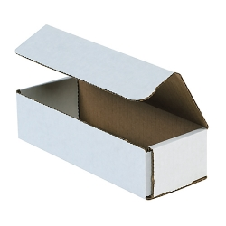 8x3x2 White Die Cut Mailer Boxes