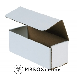 8x4x3 White Die Cut Mailer Boxes