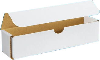 8x2x2 White Die Cut Mailer Boxes