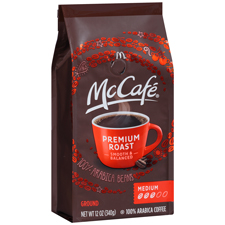 McCafe Premium Roast Coffee with a  $325 order