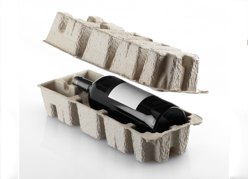 1.5 Magnum Single Bottle Pulp Wine Shippers