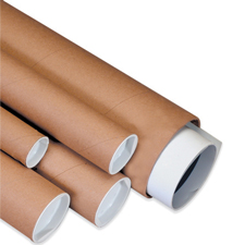 Brown Mailing Tubes
