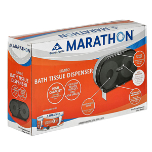 Marathon Jumbo Toilet Paper Dispenser