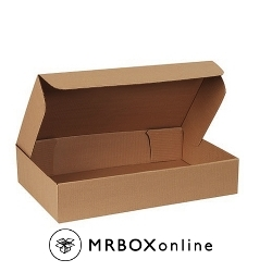 24.5x14.25x4.5 Brown Die Cut Garment Mailing Boxes