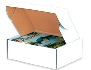 10x10x3 Deluxe White Literature Mailer Boxes