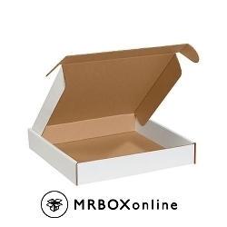 16x16x2-3/4 Deluxe White Die Cut Mailer Box