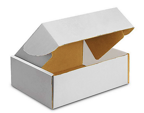 17.125x11.125x2 Deluxe White Die Cut Mailer Box