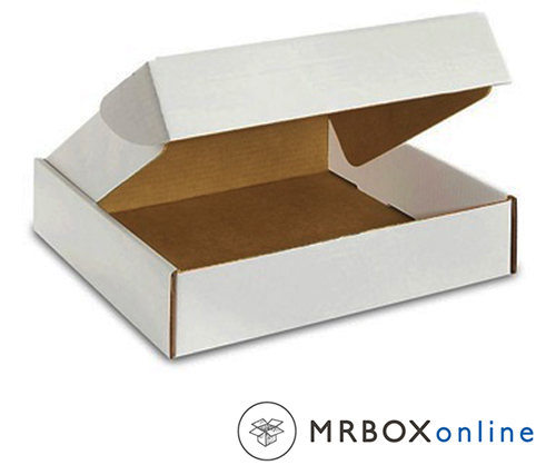 12.125x9.25x2 Deluxe White Die Cut Mailer Box