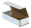 7.5x3.25x1.75 White Die Cut Mailer Boxes