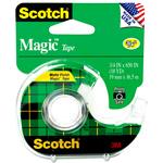 3M Scotch Magic Tape 3/4x18yds