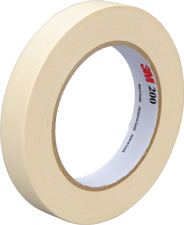 3M 1x60yds Masking Tape Sold by the roll