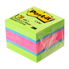 3M Scotch Post-it 2x2 Memo Cube